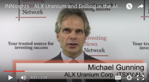 ALX Uranium and Drilling in the Athabasca Basin