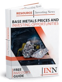 Base Metals Prices 2017 And Investing Opportunities
