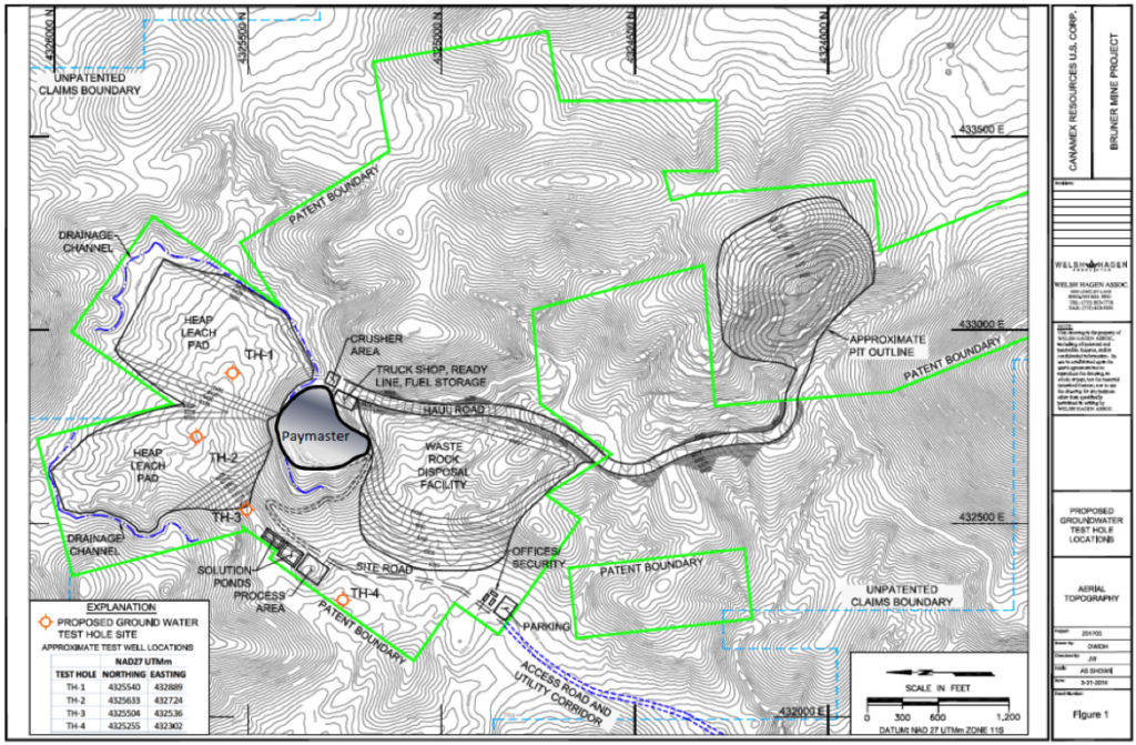 Canamex Resources - High-grade, Near-surface Gold Resource in Nevada