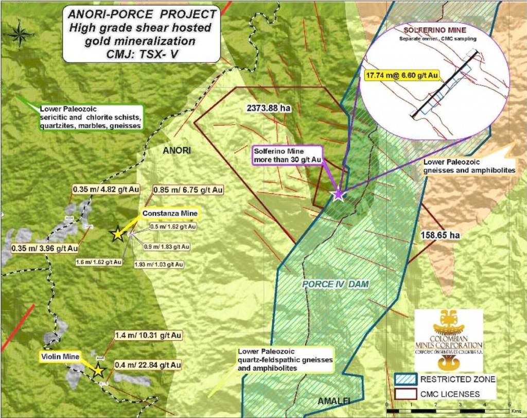 colombian mines anori