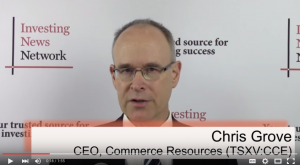 Commerce Resources Raises $2 Million in Decemeber 2015