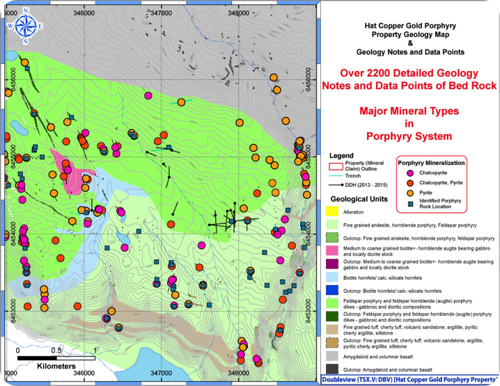 Doubleview Capital - Exploring Large-scale Gold-Copper Porphyry Project in British Columbia