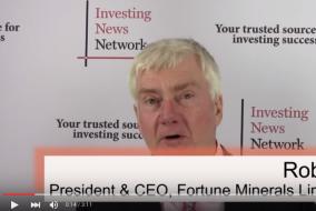 Fortune Minerals Talks Cobalt Refining in Saskatchewan