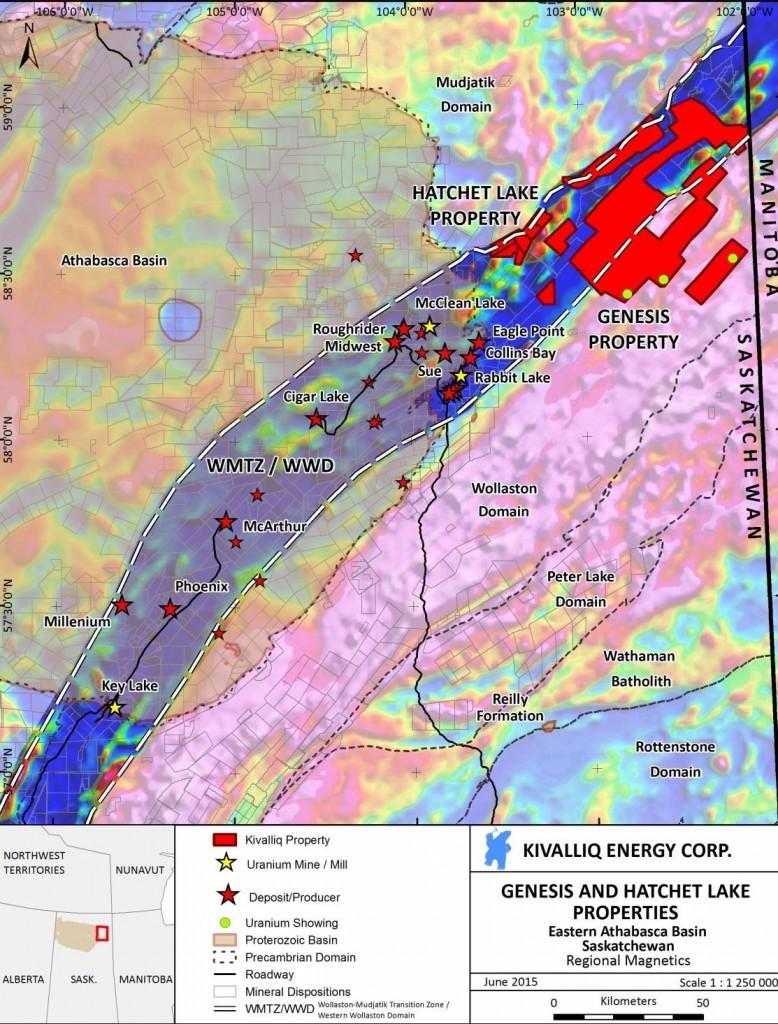 Kivalliq Energy Corporation – Building a Portfolio of High Quality Uranium Properties in Canada