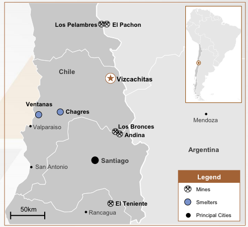 Los Andes Copper – South America's Largest Copper Deposit Not Controlled by Major