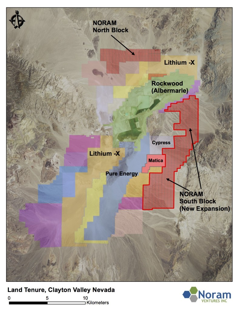 Noram Ventures - Building an International Lithium-Graphite Industrial Minerals Company
