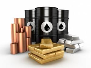 gold price silver copper oil